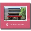 LXG University of Wisconsin Shield 4x6 Picture Frame (Red)