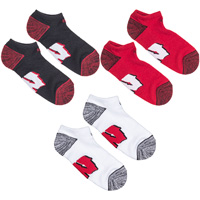'47 Brand Wisconsin W Sock 3-Pack (Red/White/Black) *