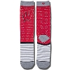 '47 Brand Wisconsin Badgers Dot Socks (Red/Multi)