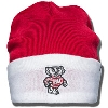 '47 Brand Bucky Badger Cuff Knit Hat (Red/White)