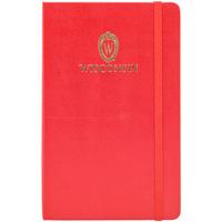 Jardine Moleskine Wisconsin Large Ruled Notebook (Red)