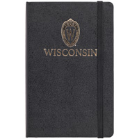 Jardine Moleskine Wisconsin Small Ruled Notebook (Black)