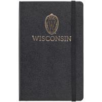 Jardine Moleskine Wisconsin Small Ruled Notebook (Black)