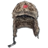 Logofit Wisconsin Bomber Winter Hat (Gray Plaid)
