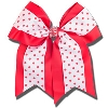 Card Emporium Red and White Hair Bow