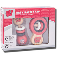 Masterpieces Puzzle Co. Wisconsin Rattle Set