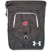 Under Armour Wisconsin Undeniable Sackpack (Black)