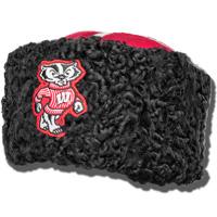 Sports Kollectibles Wisconsin Badgers Cossack Hat (Bucky)