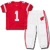 Fast Asleep Toddler Wisconsin Badgers PJ Set