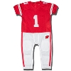 Fast Asleep Infant Wisconsin Badgers PJ Sleeper (Red/White)