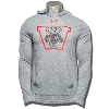 Under Armour Vault Wisconsin Badger Hooded LongSleeve (Gray)