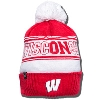 Under Armour On Wisconsin Winter Hat (Red/White)