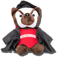 Mascot Factory Graduation Bucky Badger