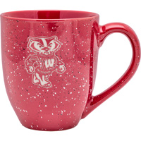 LXG Inc. Bucky Badger Bistro Mug (Red)