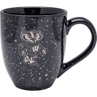LXG Inc. University of Wisconsin Bistro Mug (Black)