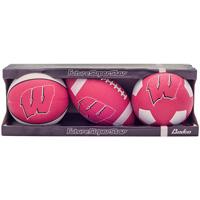 Baden Wisconsin Set of 3 Mini Sport Balls
