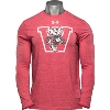 Under Armour Wisconsin Badgers Triblend Long Sleeve (Red)
