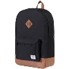 Herschel Supply Company Heritage Backpack (Black/Tan) thumbnail