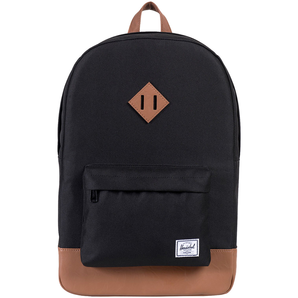 a0c62a4624f Herschel Supply Company Heritage Backpack (Black Tan)