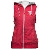 Antigua Women's Wisconsin Hooded Vest (Red/Silver) * thumbnail