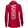 '47 Brand Women's WI Badgers Hooded Long Sleeve (Red) * thumbnail