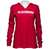 '47 Brand Women's WI Badgers Hooded Long Sleeve (Red) *