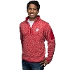 Antigua Wisconsin ¼ Zip Sweater (Red)