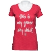'47 Brand Women's Wisconsin Game Day T-Shirt (Red) *