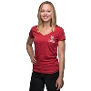 '47 Brand Women's Wisconsin Touchdown T-Shirt (Red) thumbnail