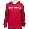 '47 Brand Women's Wisconsin Hoodie (Red) * thumbnail