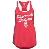 '47 Brand Women's Wisconsin Badgers Tank Top (Red) *