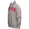 '47 Brand Wisconsin Badgers ¼ Zip Sweatshirt (Wolf Grey) thumbnail