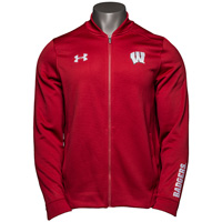 Under Armour Wisconsin Triad Jacket (Red) *