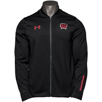 Under Armour Wisconsin Triad Jacket (Black) *