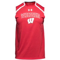 Under Armour Wisconsin Motion W Tank Top (Red) *