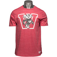 Under Armour Bucky Badger T-Shirt (Red) *