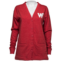 Under Armour Women's Vault W Cardigan (Vintage Red) *