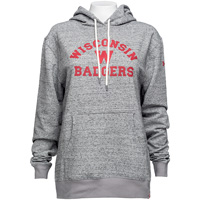 Under Armour Women's Iconic Wisconsin Hoodie (Gray) *