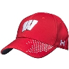Under Armour Classic Fit Wisconsin Hat (Red) thumbnail