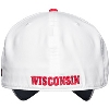 Under Armour Classic Fit Wisconsin Hat (White) thumbnail