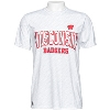 JanSport Wisconsin Badgers Poly T-Shirt (White/Gray) *