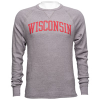 League Wisconsin Waffle Long Sleeve Shirt (Midnight Heater)