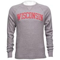 League Wisconsin Waffle Long Sleeve Shirt (Midnight Heater)