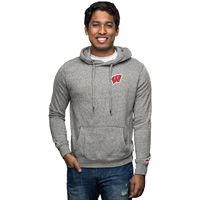 League Wisconsin Heritage Hooded Sweatshirt (Fall Heather)