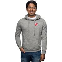League Wisconsin Heritage Hooded Sweatshirt (Fall Heather)