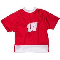 All Star Dogs Wisconsin Badgers Dog Hockey Jersey (Red)