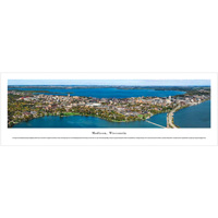 Blakeway Madison, Wisconsin Skyline Panoramic Poster