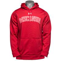 Under Armour Wisconsin Armour Fleece Hood (Red)