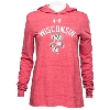 Under Armour Women's Wisconsin Hooded Long Sleeve (Red) *
