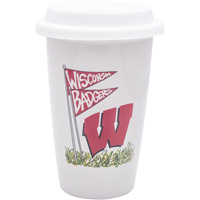 Magnolia Lane Wisconsin Badgers Travel Mug